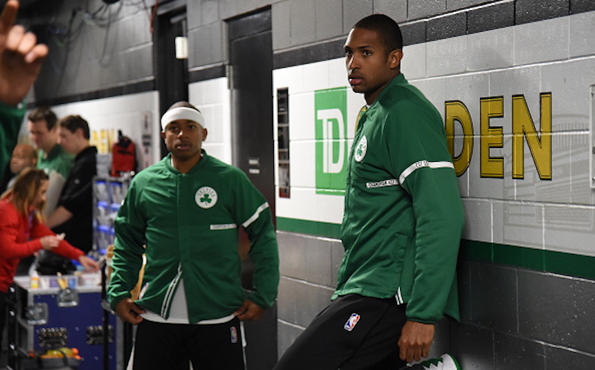 Isaiah Thomas y Al Horford