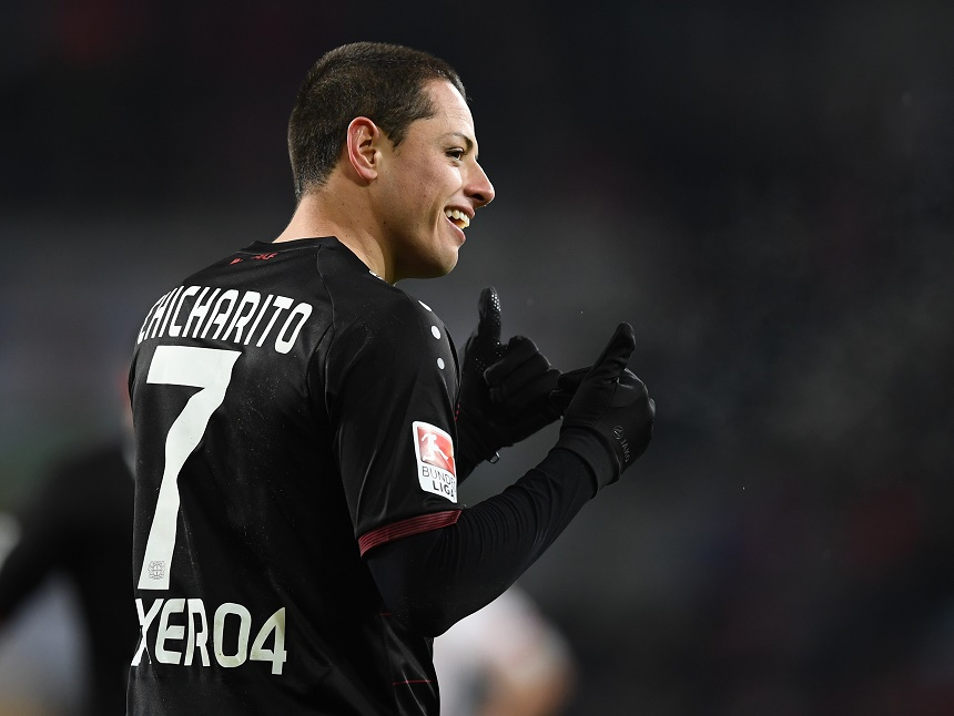 Chicharito titular y toda la Champions League en vivo