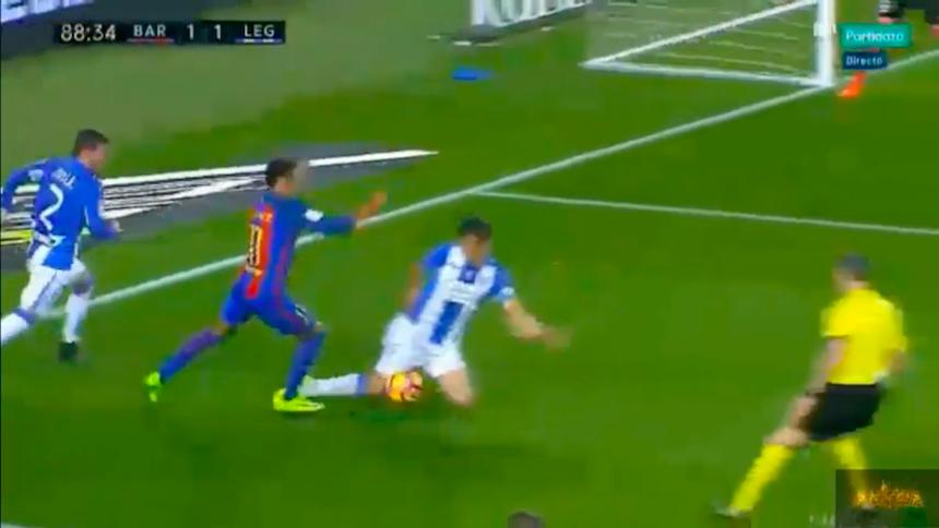 Pasando aceite: el Barcelona gana con polémico penal de último minuto