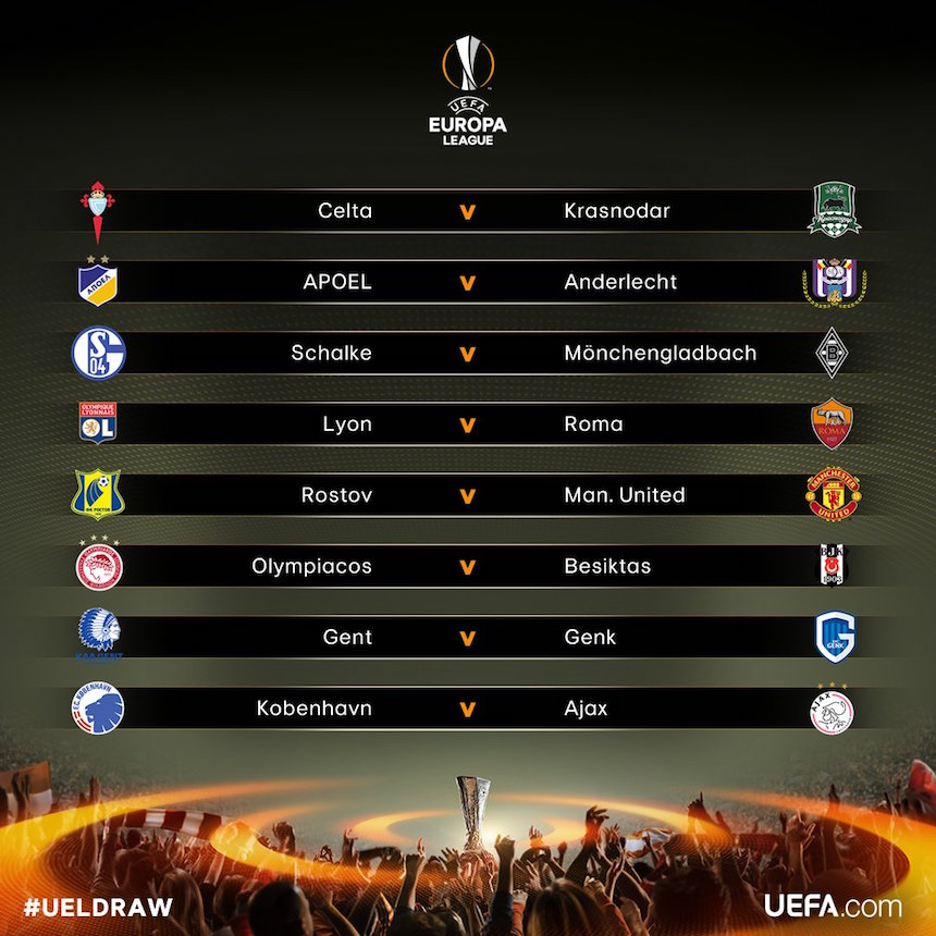 Octavos de Final de la Europa League