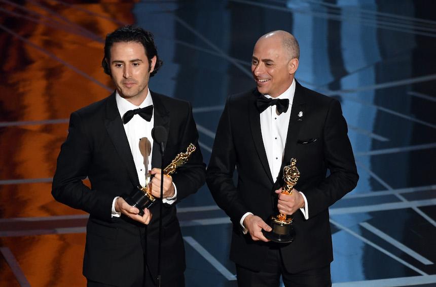 Director Alan Barillaro y productor Marc Sondheimer