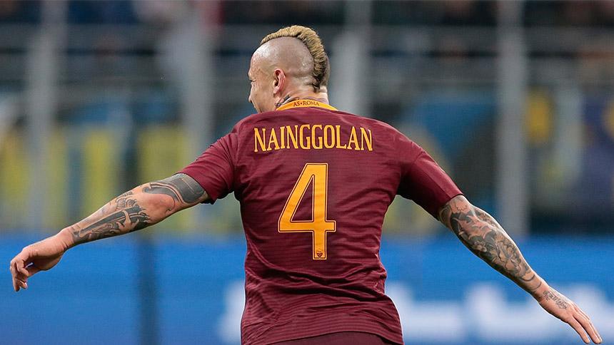 Checa los dos golazos de Radja Nainggolan contra el Inter
