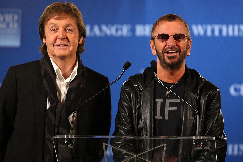 ¡Paul McCartney y Ringo Starr trabajan en música nueva!