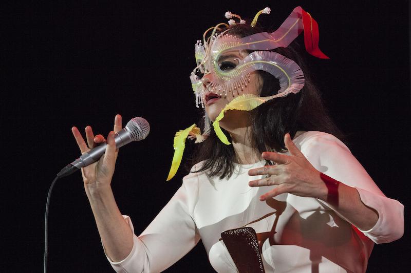 La noche en la que Björk se presentó por primera vez en la CDMX