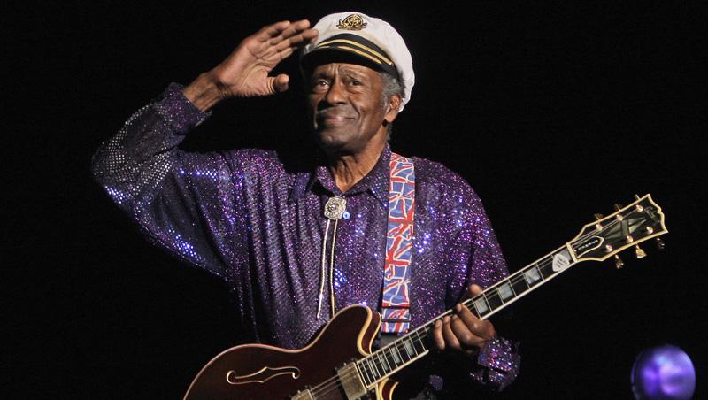 Chuck Berry despidiendose