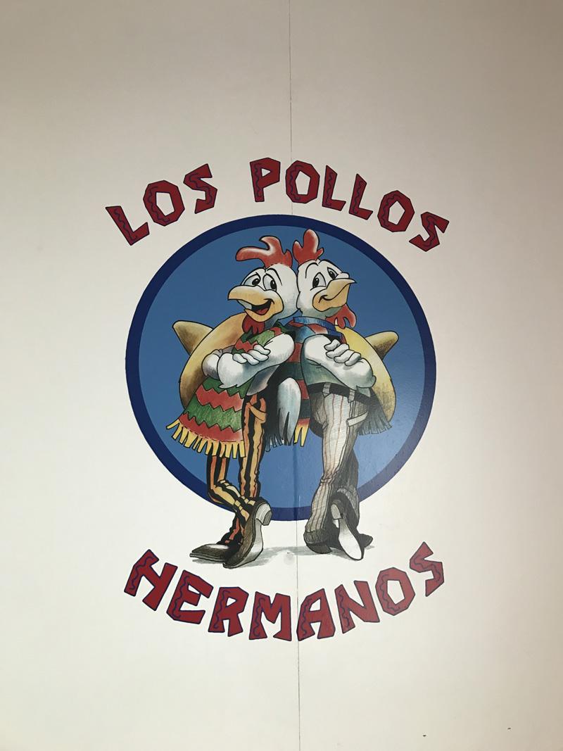 Mural de Pollos Hermanos