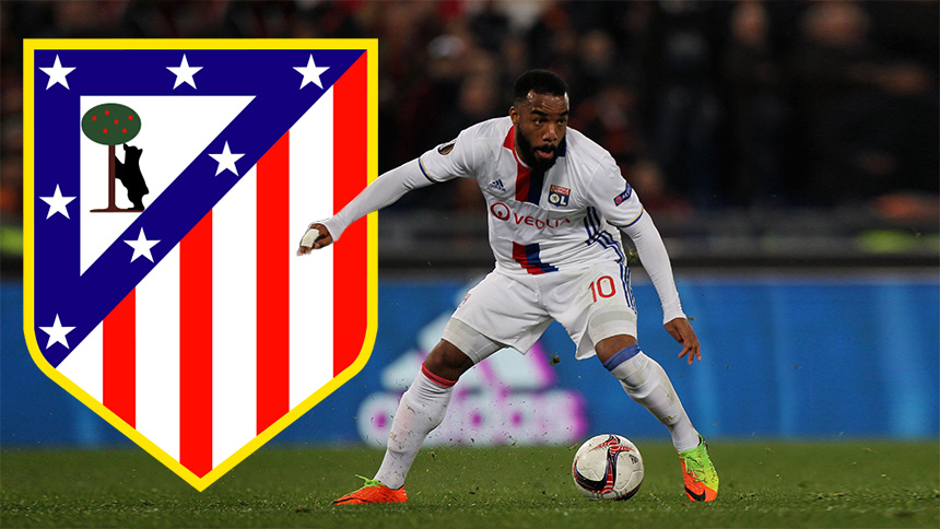 Image result for lacazette atletico