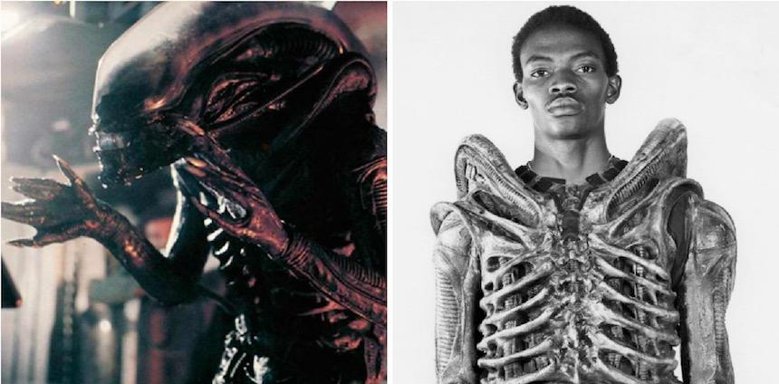 Bolaji Badejo como Alien