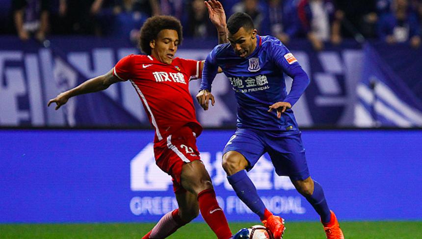 En la Superliga China una tarjeta roja es igual a seis meses de suspensión