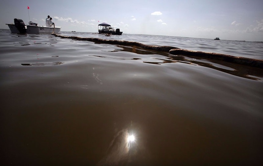Derrame petrolero en el Golfo de México