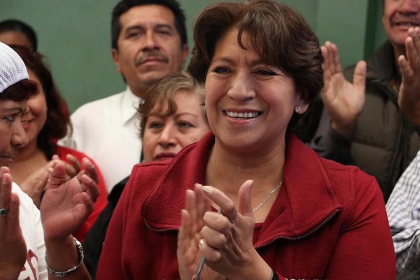 Delfina Gómez, candidata a la gubernatura del Edomex