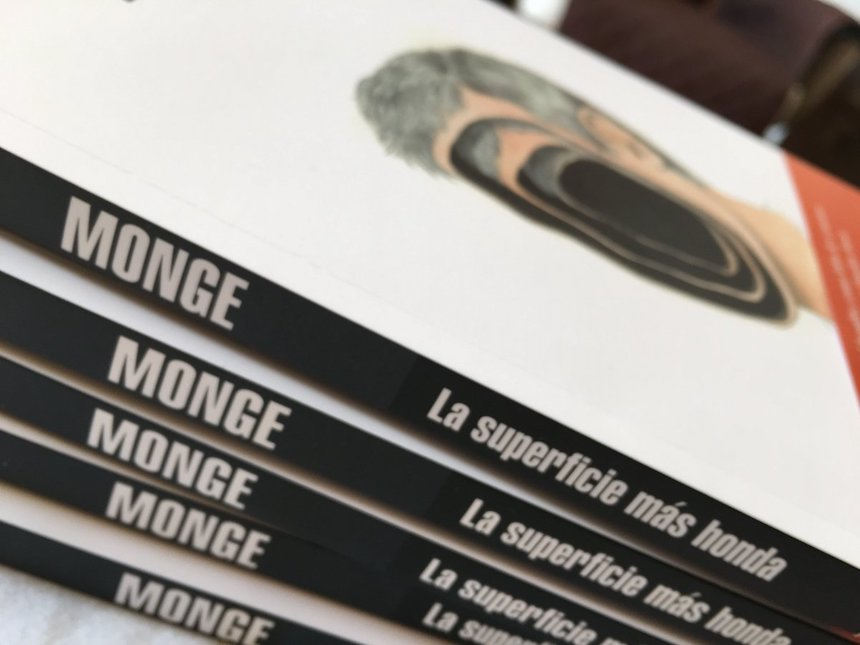 """""""La superficie más honda"""", del escritor Emiliano Monge"""