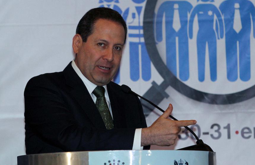 Eruviel Ávila, gobernador del Edomex