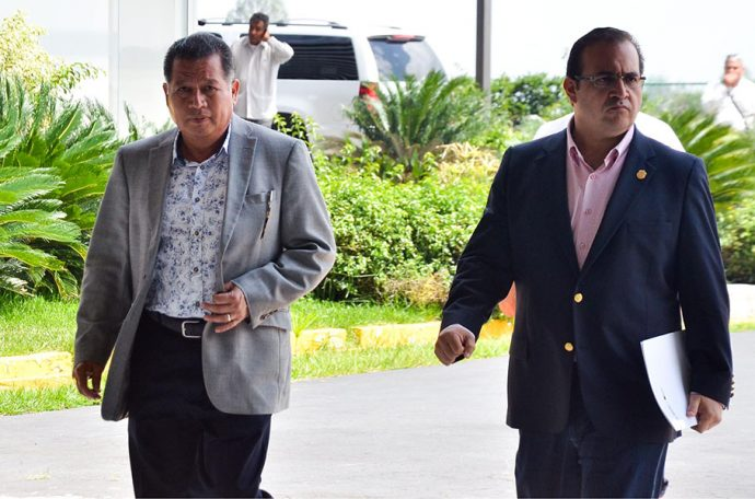 Flavino Ríos y Javier Duarte