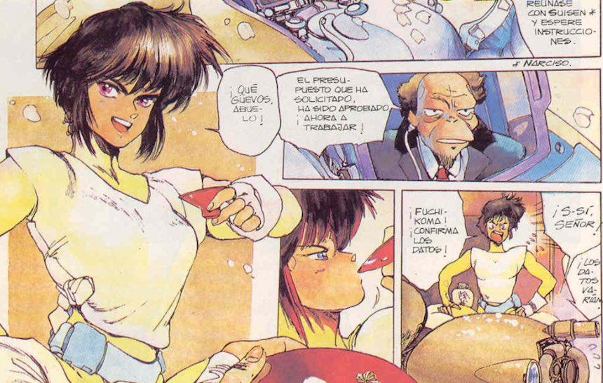 Motoko Kusanagi Manga