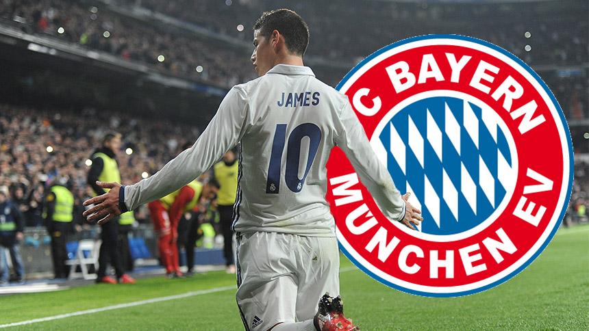 James Rodríguez vería con buenos ojos al Bayern Múnich