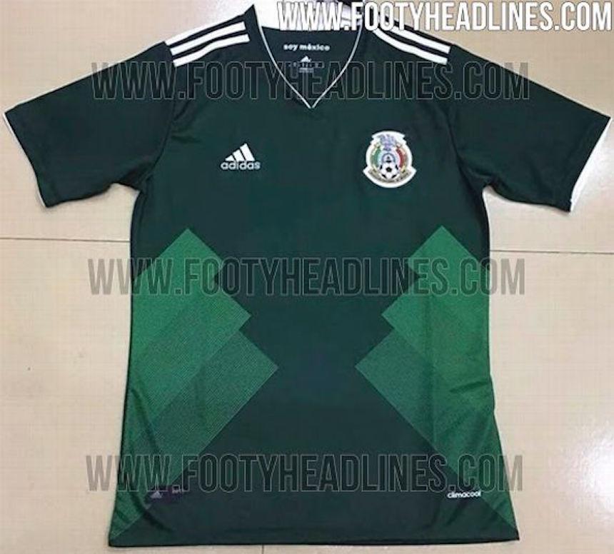 Filtran el que sería el siguiente jersey de la Selección Mexicana 7bd50349ae669