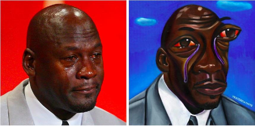 Meme de Jordan y su arte