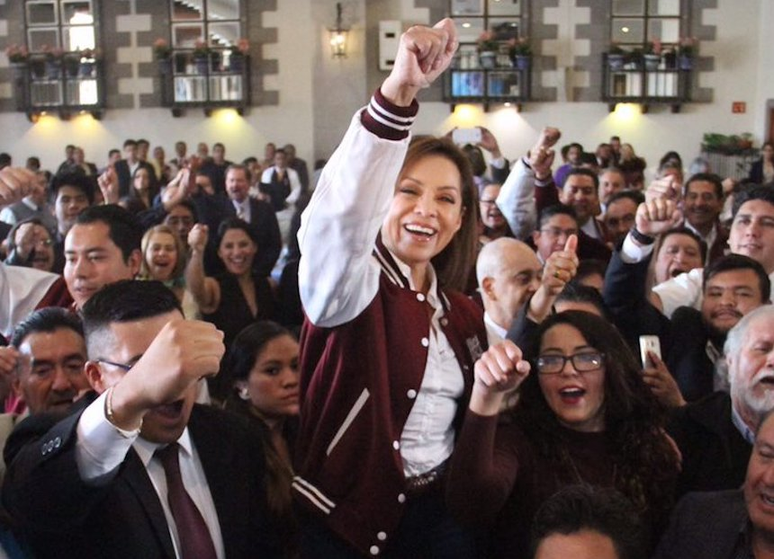 Resultado de imagen para Josefina Vázquez Mota, candidata del PAN a la gubernatura del Edomex.