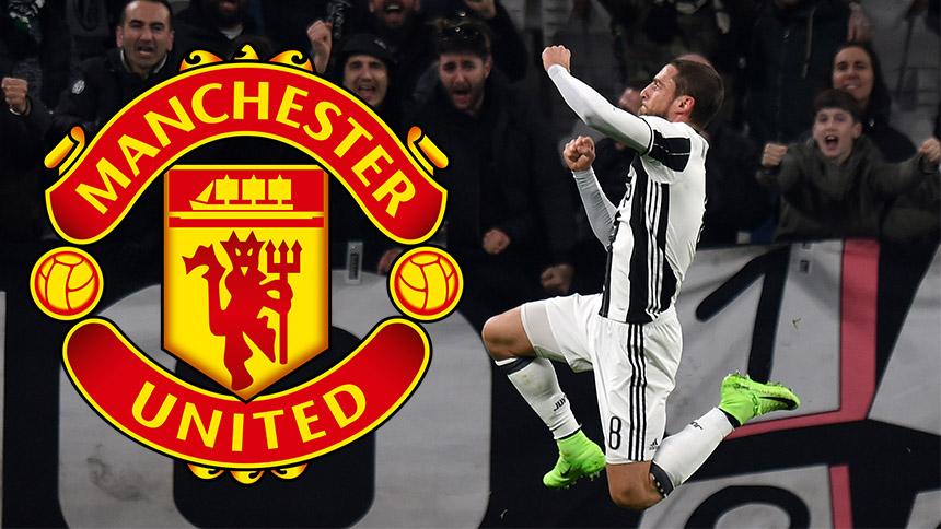 Claudio Marchisio suena para el mediocampo del Manchester United