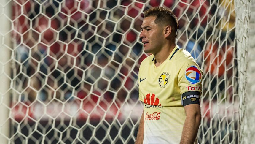 Pablo Aguilar con América