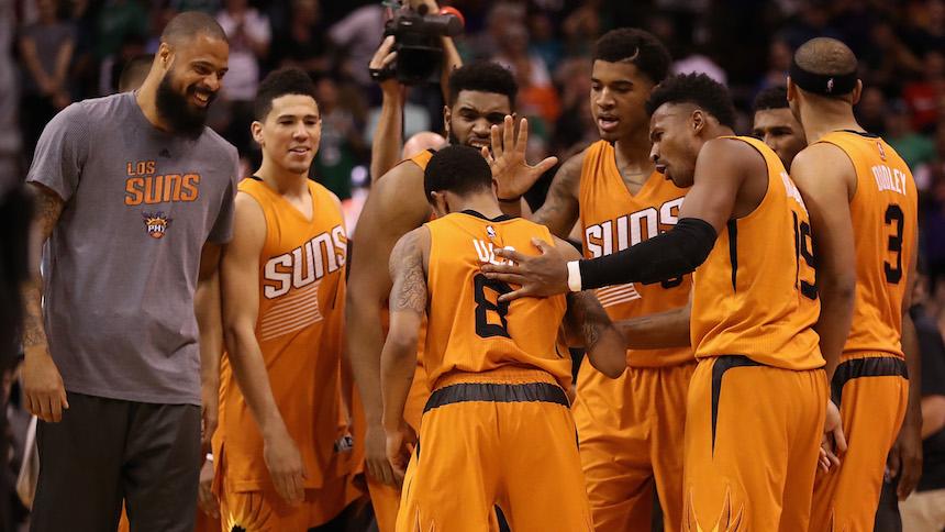 Phoenix Suns: el equipo más joven en la historia de la NBA