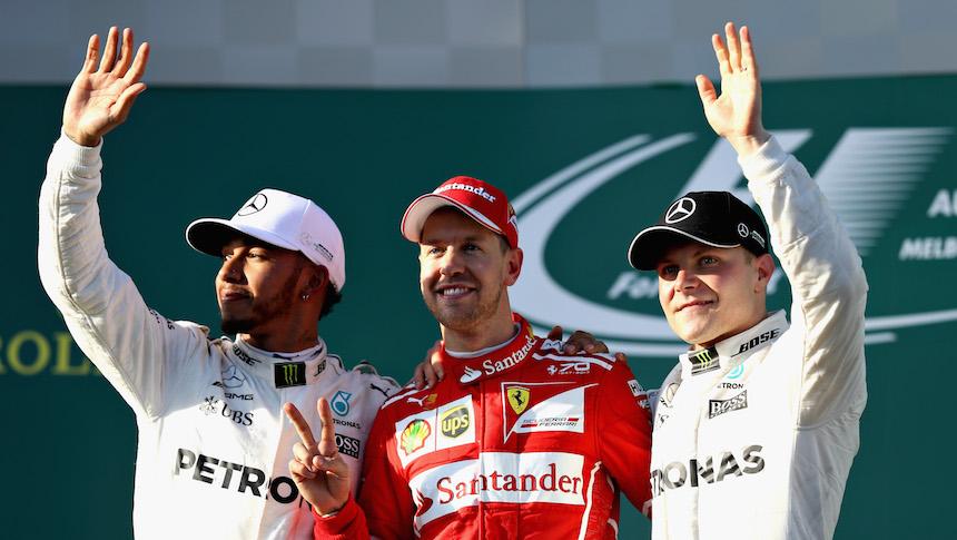 ¡Sorpresa! Sebastian Vettel se quedó con el primer Gran Premio de la temporada