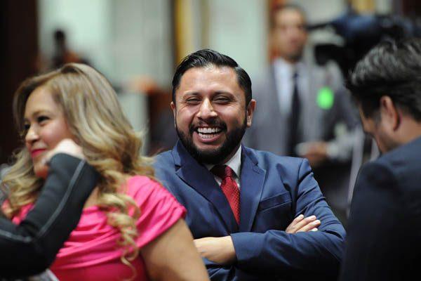 El diputado suplente del PRI, Antonio tarín