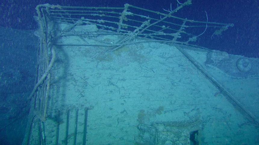 Titanic años después de su hundimiento