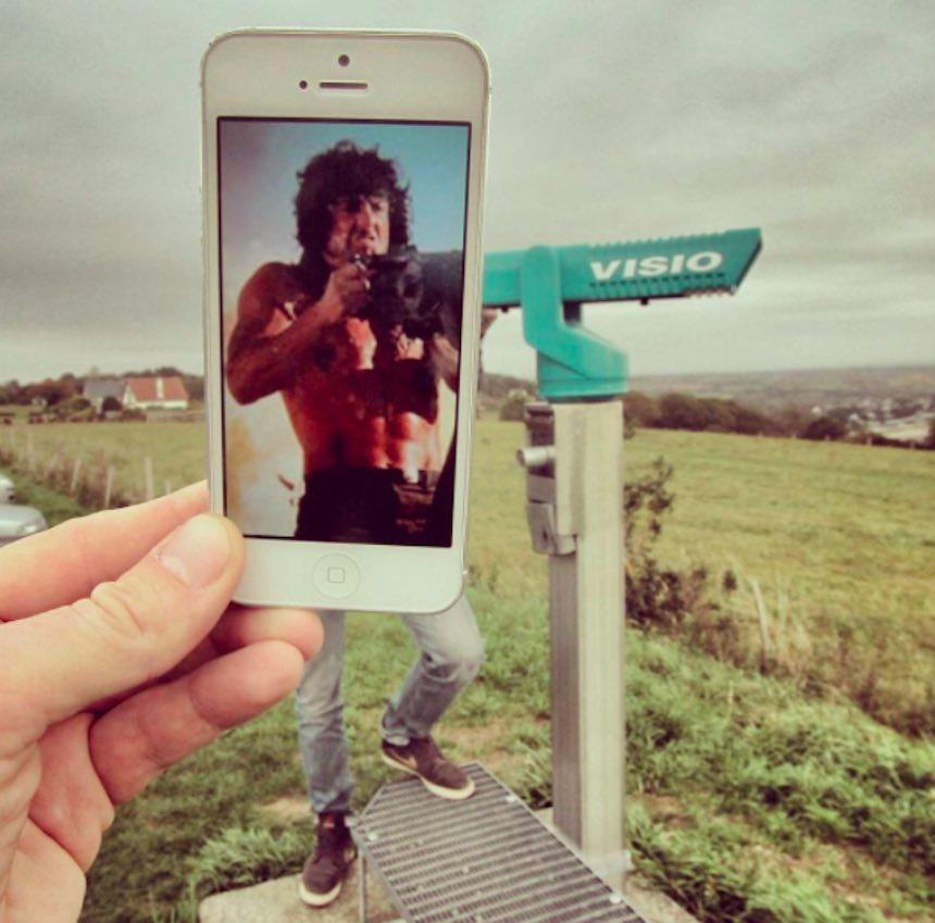 SnapChat - Rambo