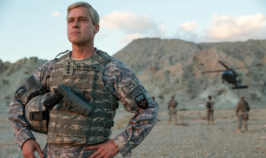 War Machine: Primer avance de la película de Netflix con Brad Pitt