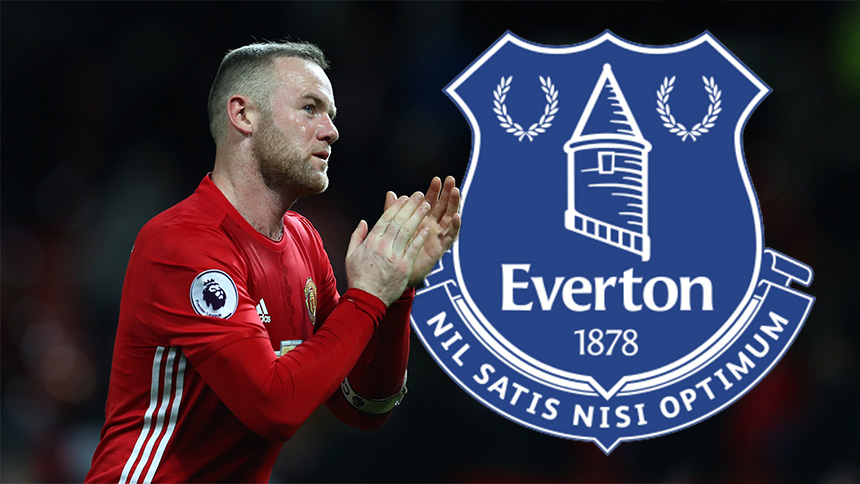 ¿Wayne Rooney va de regreso al Everton?