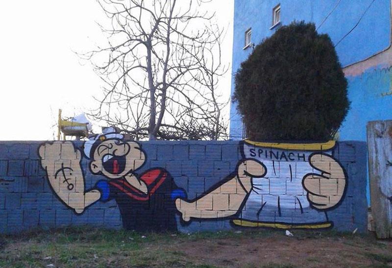 Grafiti Popeye