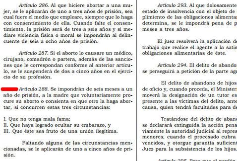 Propuesta de castigo a mujeres que aborten en Michoacán