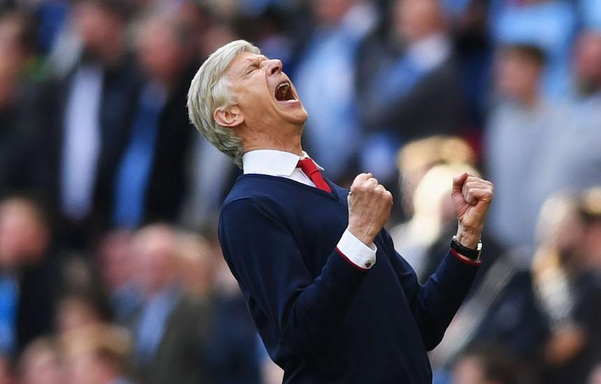 Arsene Wenger FA Cup