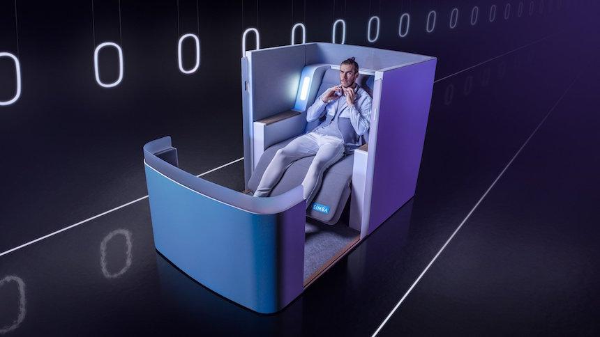 gareth bale inspir al creador del asiento de avi n m s c modo del mundo. Black Bedroom Furniture Sets. Home Design Ideas