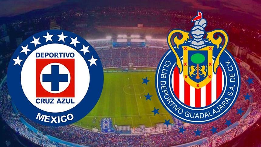 Sigue el juego del morbo entre Cruz Azul vs Chivas en vivo aquí