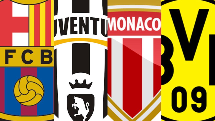 En vivo: el cierre de los 4tos de Final en la Champions con Barcelona vs Juventus y Mónaco vs Dortmund