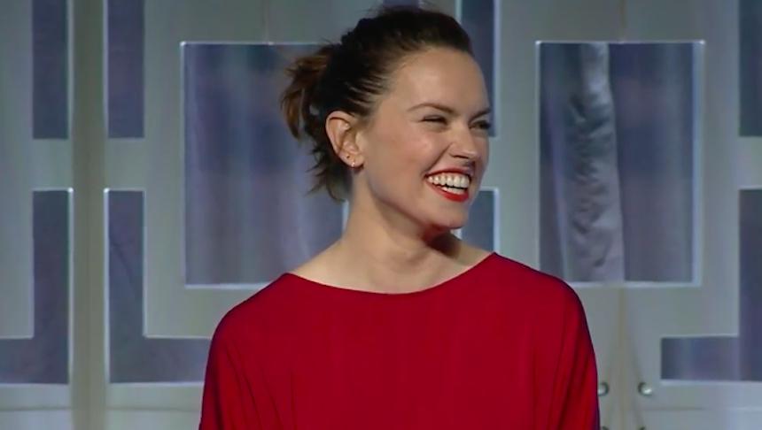 Daisy Ridley - Star Wars Celebration