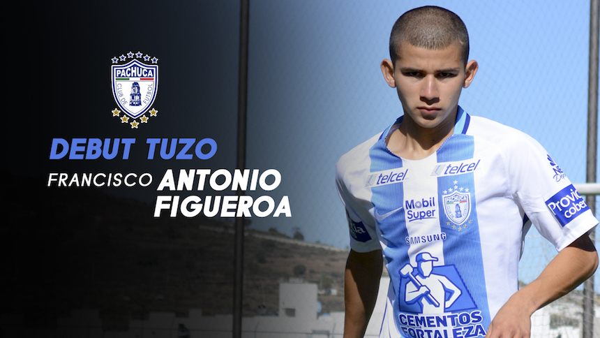 La promesa de la Liga MX: 'Tony' Figueroa