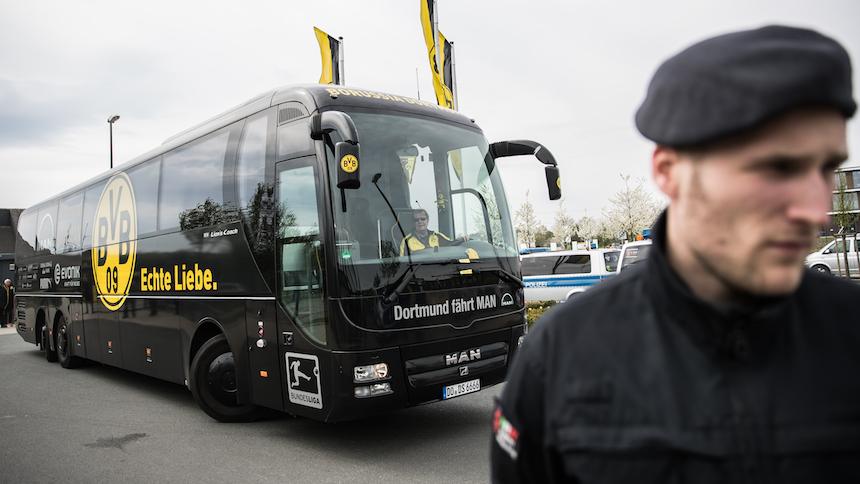 Camión del Borussia Dortmund