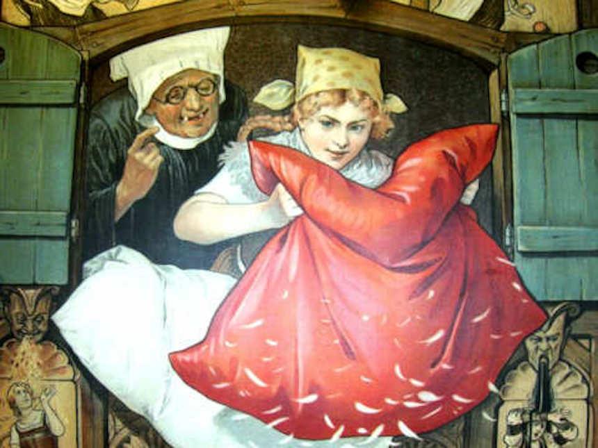Cuentos - Frau Holle