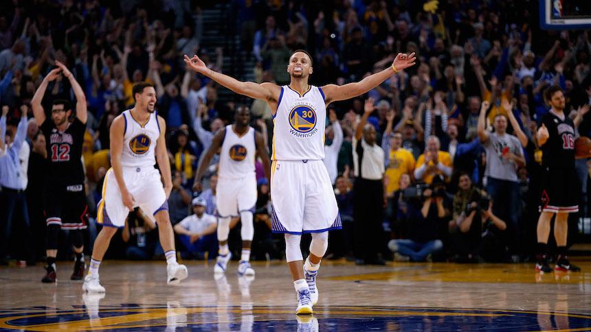Con todo por el título: los Warriors barrieron la serie contra Portland