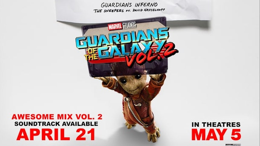 Saquen sus walkman con el soundtrack de Guardians of the Galaxy Vol.2