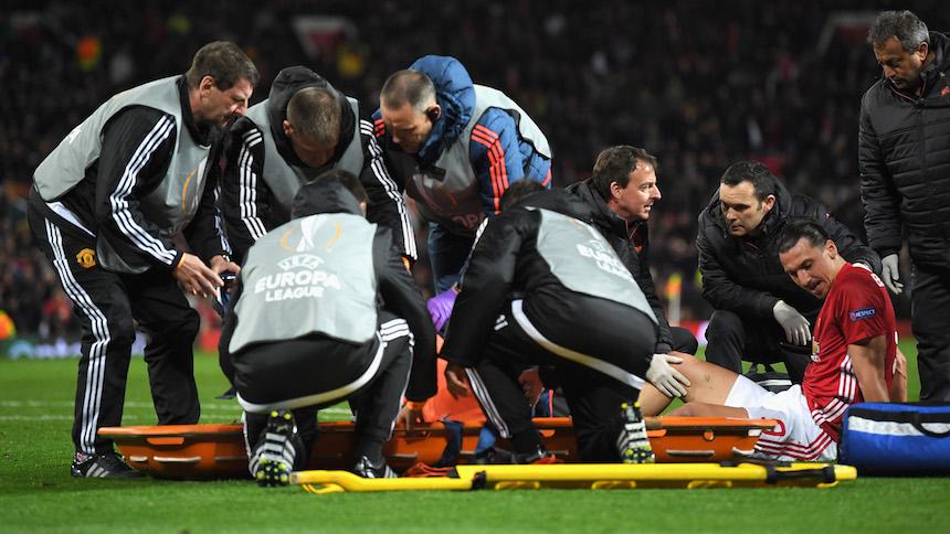 Zlatan Ibrahimovic se perderá lo que resta de la temporada por lesión