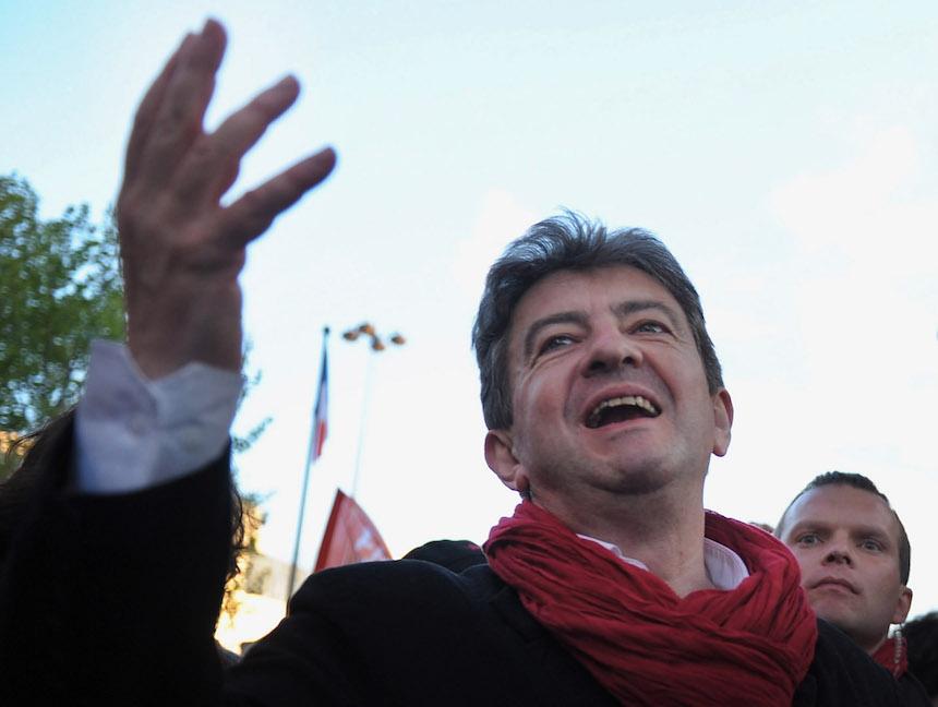 Jean Luc Melenchon, candidato a la Presidencia de Francia