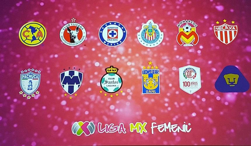 Equipos de la Liga MX Femenil