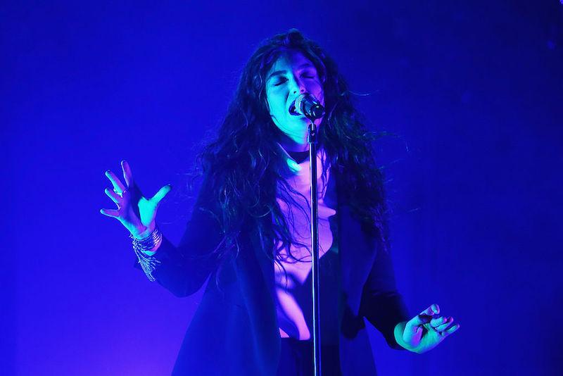 ¡Lorde estrenó nuevas canciones en su primer concierto desde 2014!