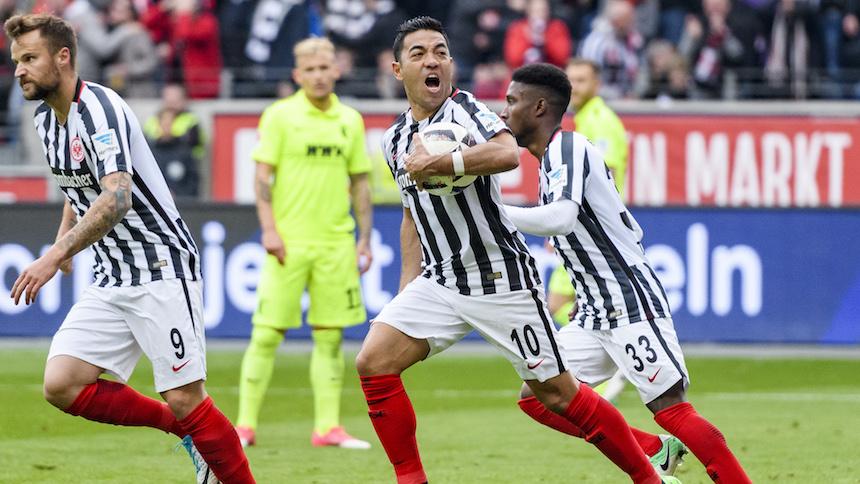 ¡DOBLETE de Marco Fabián para darle el triunfo al Frankfurt!