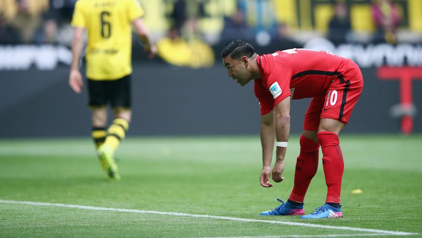 Eintracht cae ante el Dortmund
